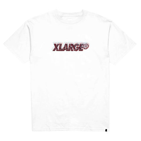 XLARGE - OG SCRIPT SS TEE - WHITE - THIS IS ALLEY