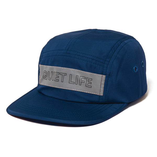 The Quiet Life - Reflective 5 Panel Camper Hat - Navy