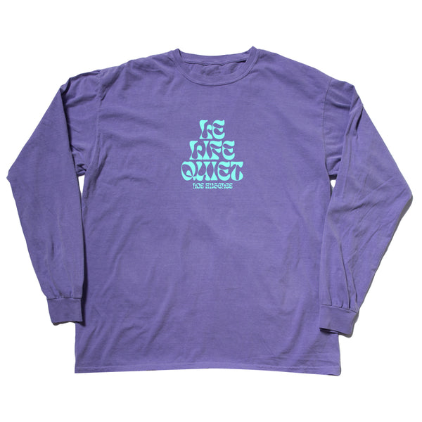 The Quiet Life - Psych Long Sleeve Tee - Purple
