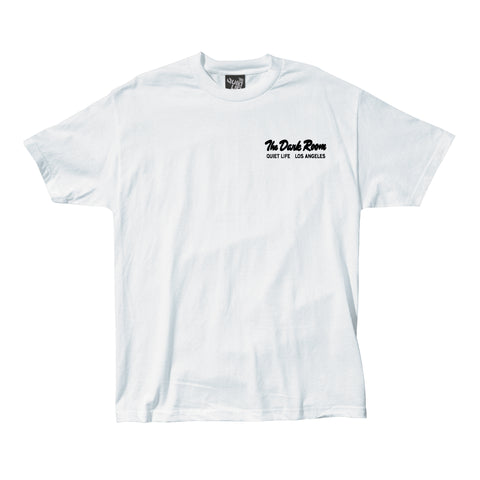 The Quiet Life - Dark Room Tee - White