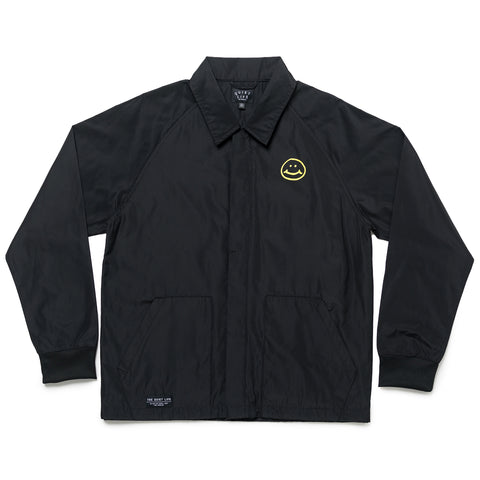 The Quiet Life - Smiley Coach Jacket - Black