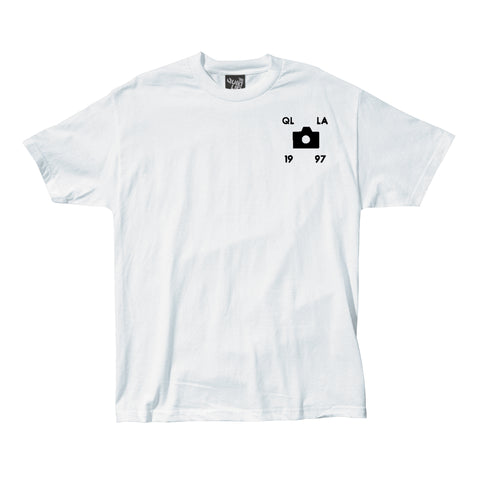 The Quiet Life - Settings Tee - White