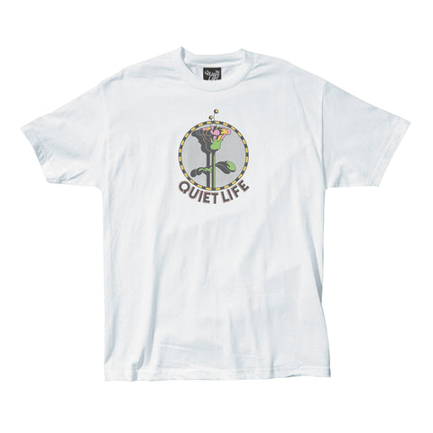 The Quiet Life - Smudge Tee - White