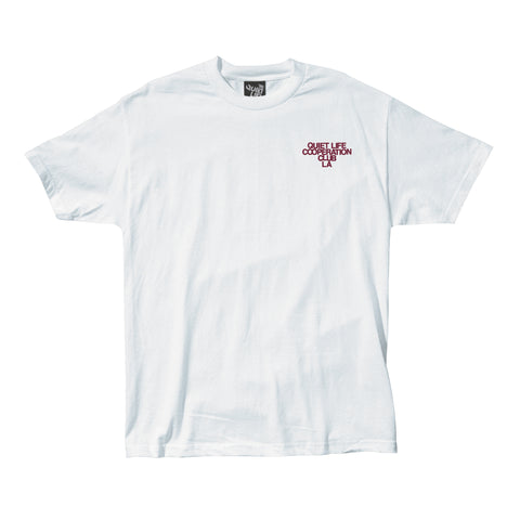 The Quiet Life - Cooperation Tee - White