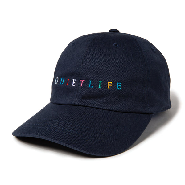 The Quiet Life - Rainbow Dad Hat - Navy