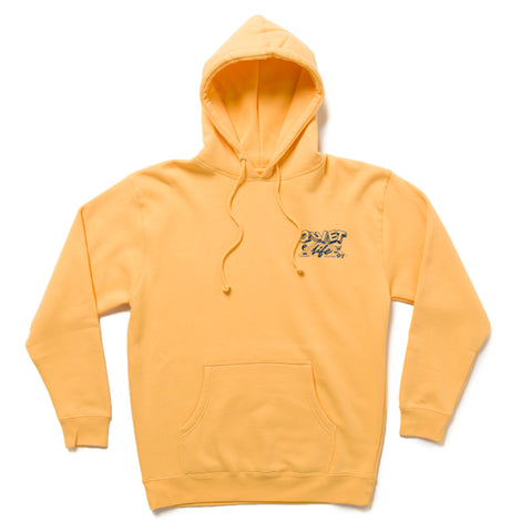 The Quiet Life - Grid Pullover Hoodie - Peach