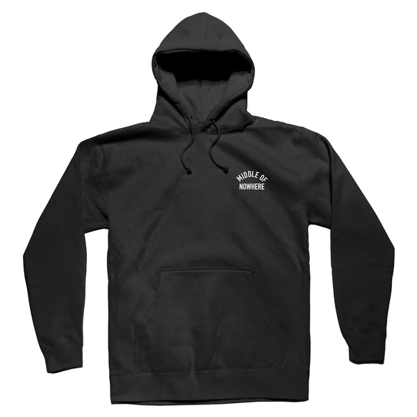 The Quiet Life - Middle Of Nowhere Pullover Hoodie - Black