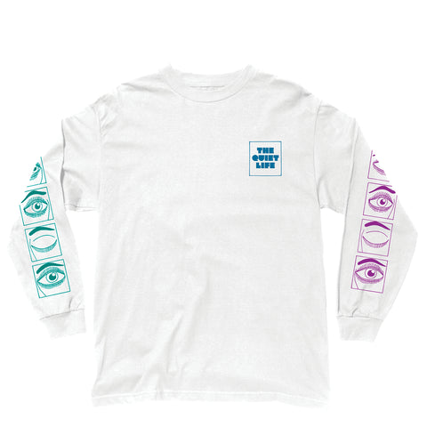 The Quiet Life - Blink Long Sleeve Tee - White