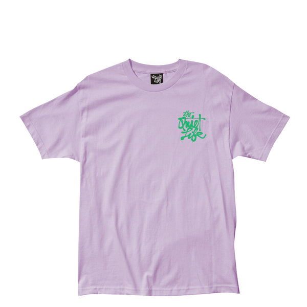 The Quiet Life - Cody Script Tee - Lilac