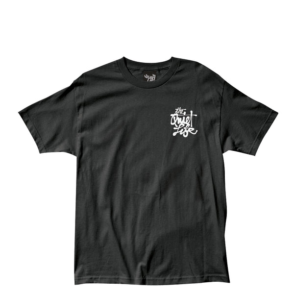 The Quiet Life - Cody Script Tee - Black