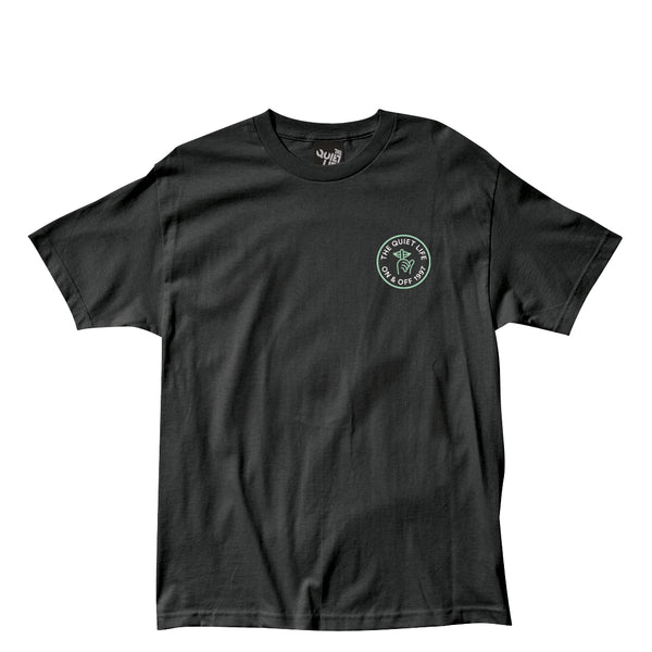 The Quiet Life - Shhh Circle Tee - Black