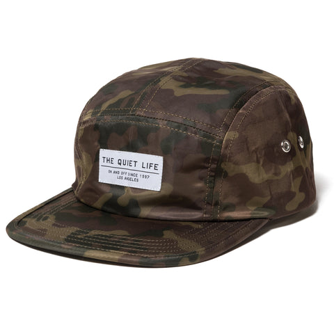 The Quiet Life - Camo 5 Panel Camper Hat - Camo