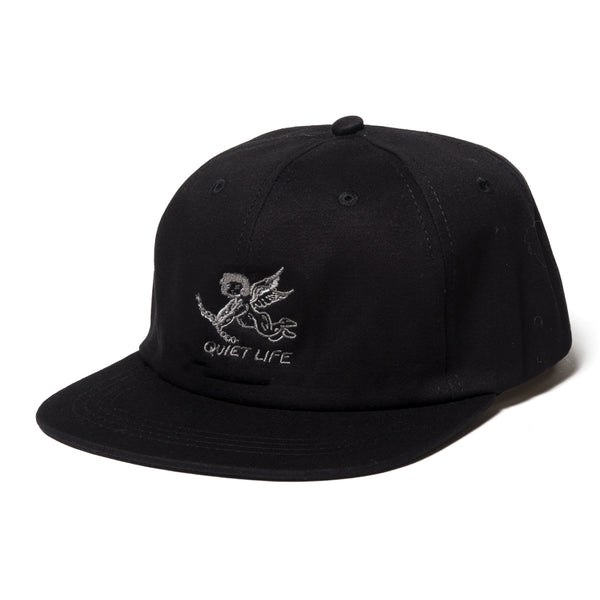 The Quiet Life - Kenney Polo Hat - Black