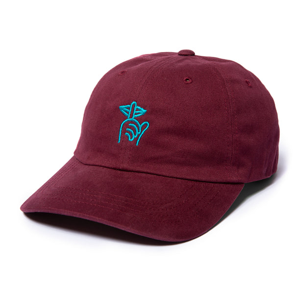 The Quiet Life - Shhh Dad Hat - Maroon