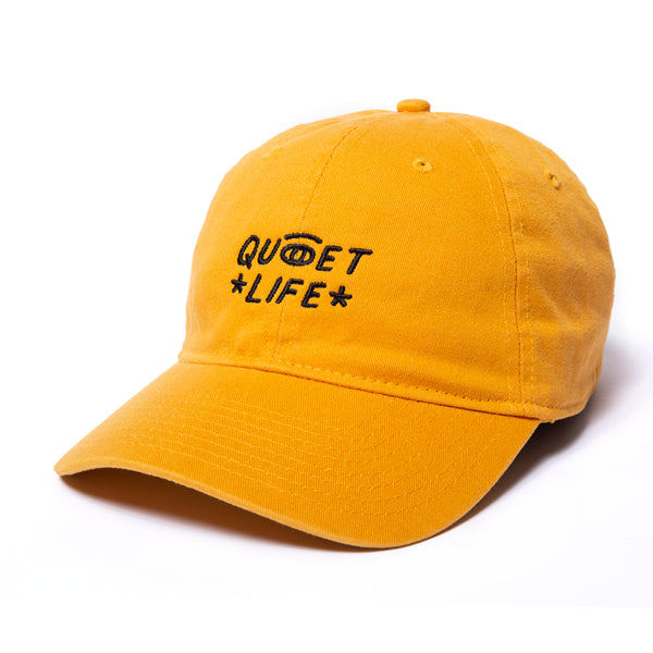 The Quiet Life - Quiet Eye Dad Hat - Gold