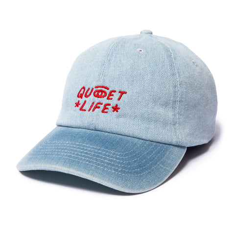 The Quiet Life - Quiet Eye Dad Hat - Denim