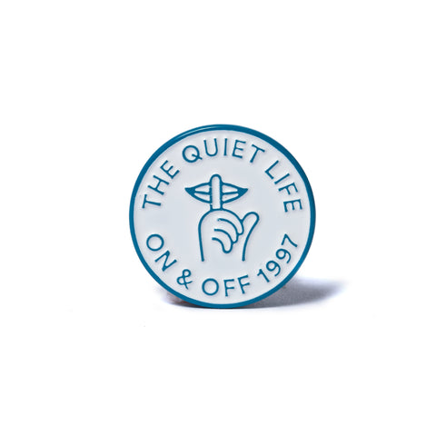 The Quiet Life - Shhh Circle Lapel Pin - Metal
