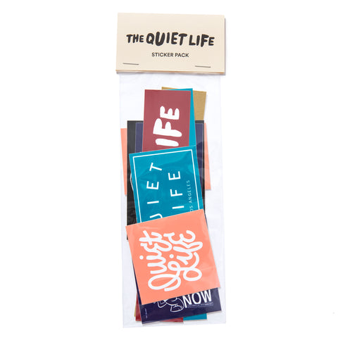 The Quiet Life - Assorted Sticker Pack