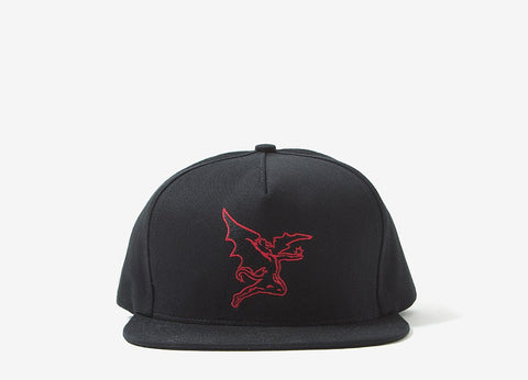 Raised By Wolves x Black Sabath Creature Snapback - Black