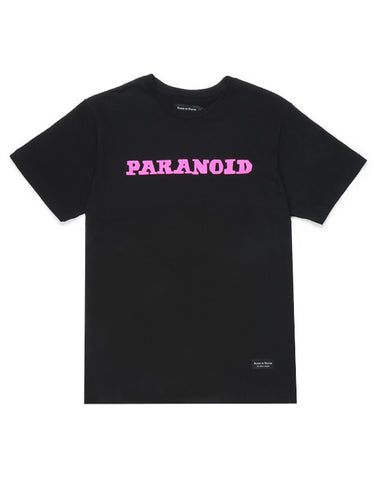 Raised By Wolves x Black Sabbath Paranoid Tee - Black