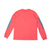 BILLIONAIRE BOYS CLUB - BB RIDER L/S T-SHIRT - S.CORAL