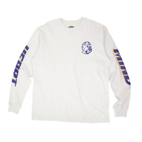 BILLIONAIRE BOYS CLUB - BB RIDER L/S T-SHIRT - WHITE