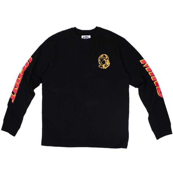 BILLIONAIRE BOYS CLUB - BB RIDER L/S T-SHIRT - BLACK