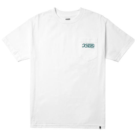 XLARGE - SERVICE SS POCKET TEE - WHITE