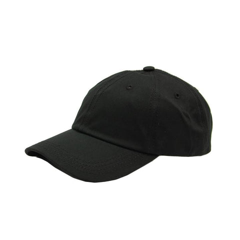 BILLIONAIRE BOYS CLUB - BB STRAIGHT LOGO HAT - BLACK