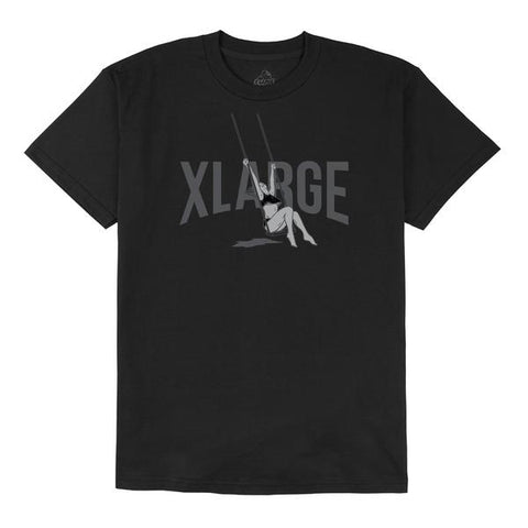 XLARGE - SWING SS TEE - BLACK - THIS IS ALLEY