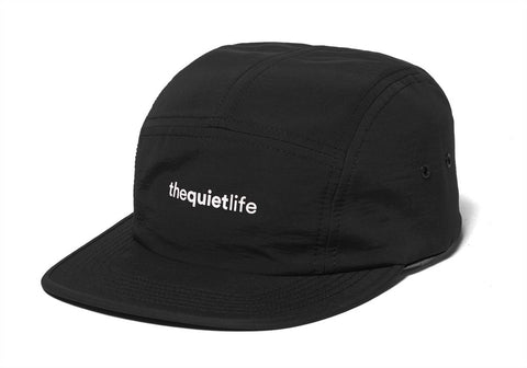 The Quiet Life - Origin 5 Panel Camper Hat - Black