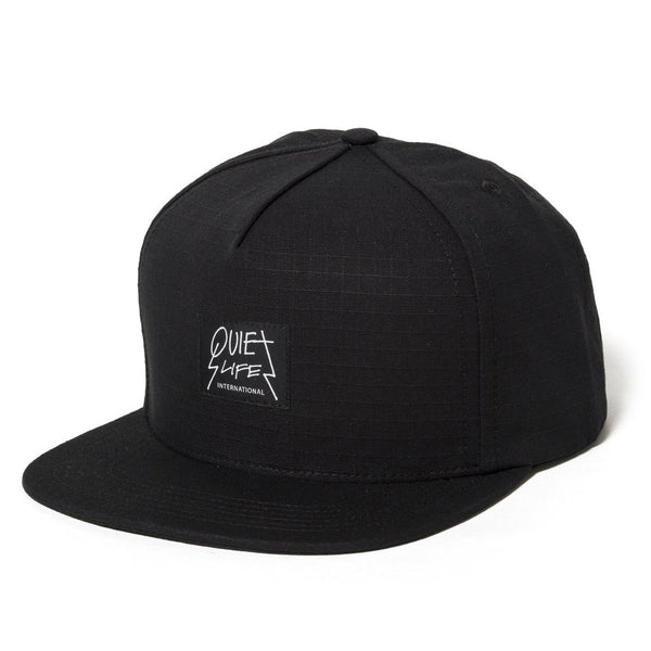 The Quiet Life - Metal Snapback Hat - Black