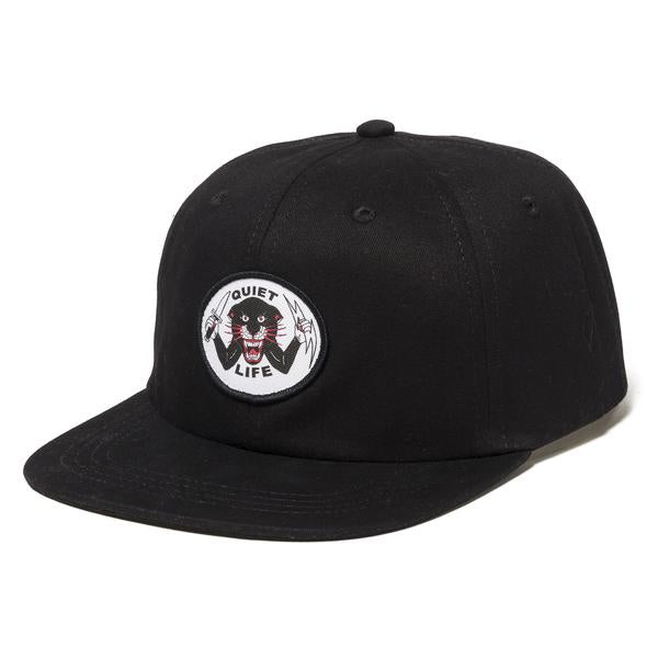 The Quiet Life - Venom Panther Polo Hat - Black