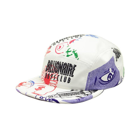 BILLIONAIRE BOYS CLUB - BB VOYAGER HAT - SNOW WHITE