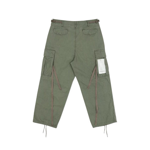 GROCERY - Washed Cargo Pants - Olive