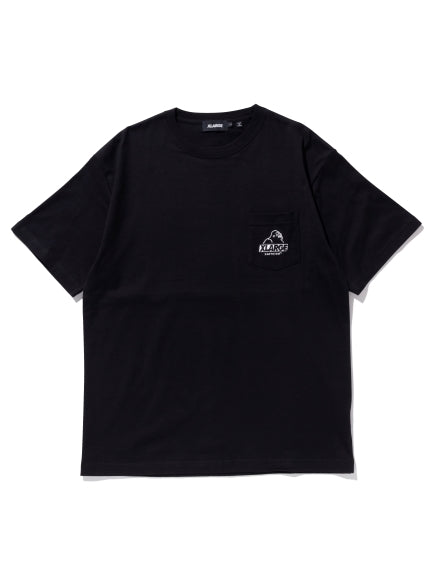XLARGE - Embroidery Slanted OG Pocket Tee - Black