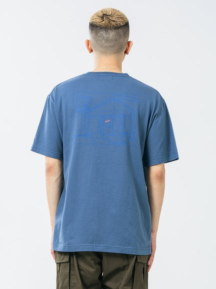 XLARGE - S/S POCKET TEE STORE - BLUE