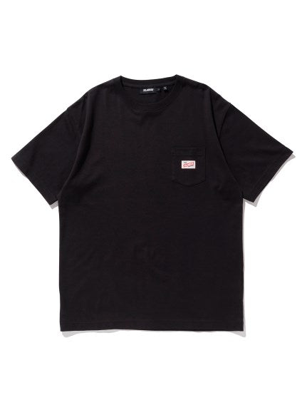 XLARGE - S/S POCKET TEE STORE - BLACK