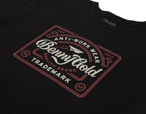 Benny Gold - Anti Work Tee - Black