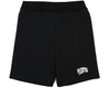 BILLIONAIRE BOYS CLUB - SMALL ARCH LOGO SHORTS - BLACK