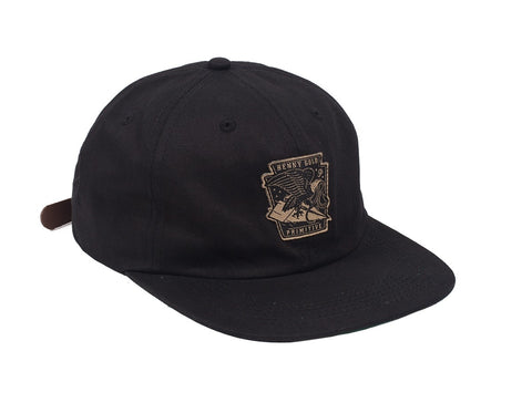 Benny Gold - BG X Primitive Eagle Polo Hat - Black