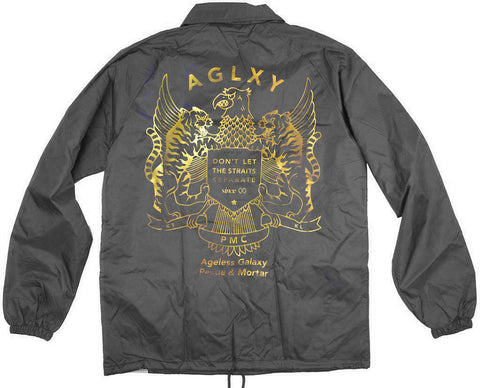 AGELESS GALAXY - STRAITS COACH JACKET - BLACK