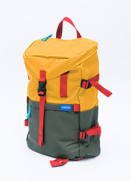 ONNON - ADV Street Backpack - Yellow Military Green