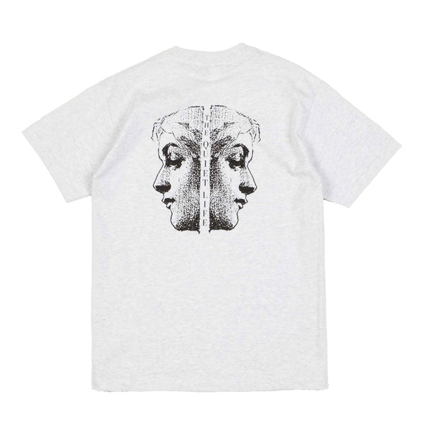 The Quiet Life - Face Off Tee - Ash Heather