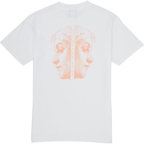 The Quiet Life - Face Off Tee - White