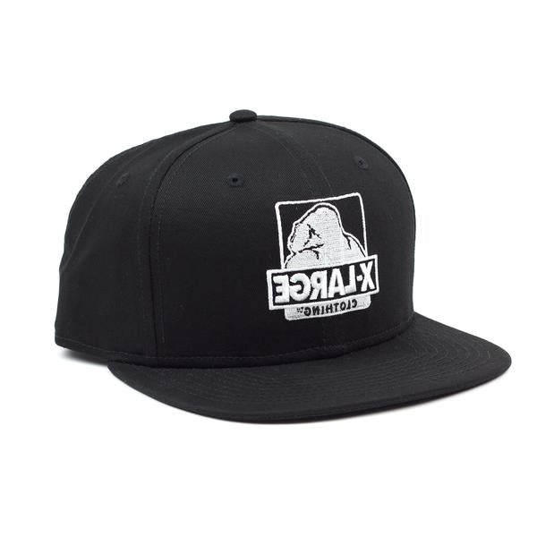 XLARGE - FLIPSIDE NEW ERA HAT - BLACK
