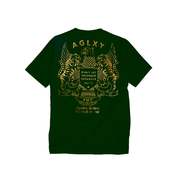 AGELESS GALAXY - STRAITS TEE - GREEN