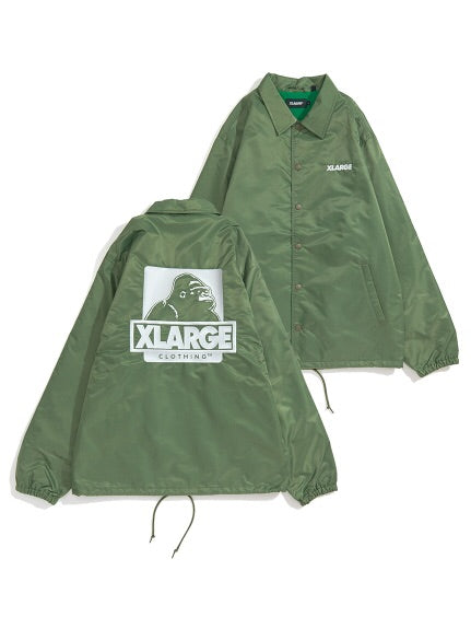 XLarge - OG Coaches Jacket - Olive