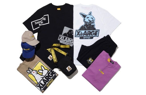 XLarge - FR2 x XLarge Pocket Tee - Black
