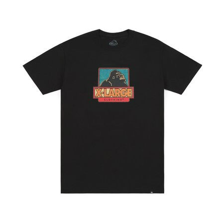 XLARGE - STRIP OG SS TEE - BLACK